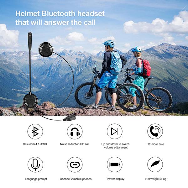 EJEAS E1 bluetooth helmet headset