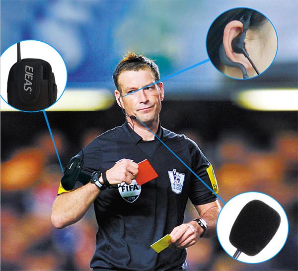 Referee Bluetooth Intercom FBIM